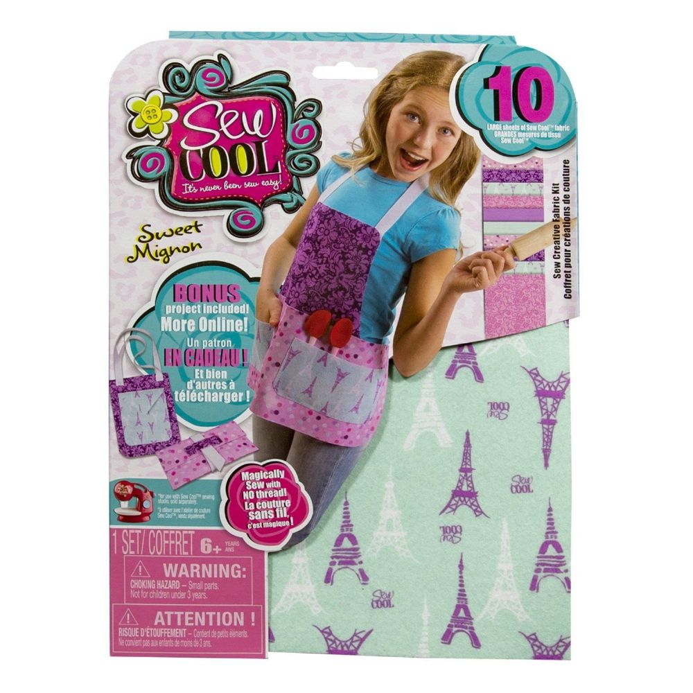 Sew Cool 10 Large Fabric Refill Kit Sweet